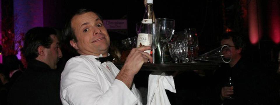Durant un cocktail, un déjeuner, un dîner, lors d'un séminaire, d'un mariage, d'un anniversaire...